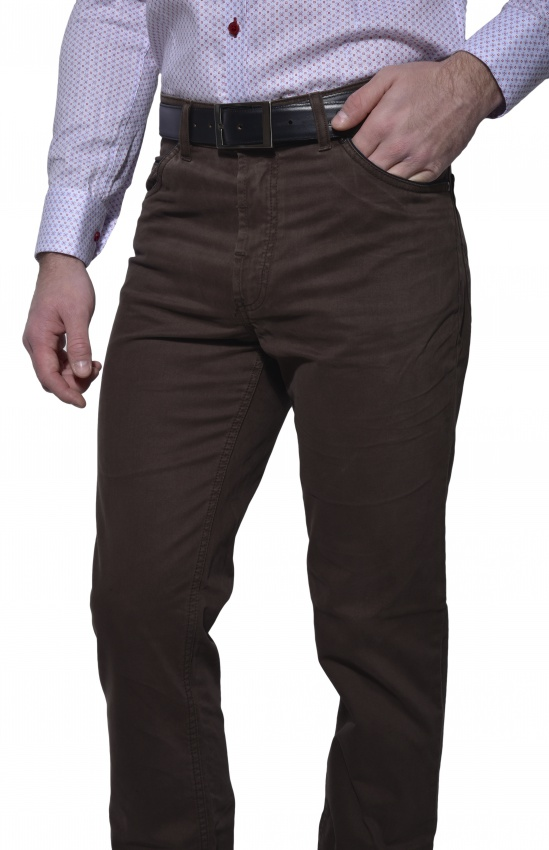 Brown casual trousers