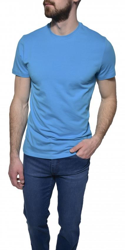 Bledomodré tričko