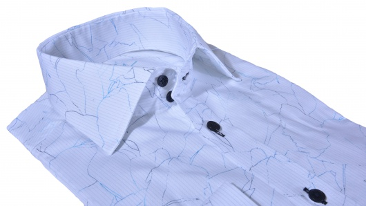 LUXURY LINE Printed Extra Slim Fit shirt