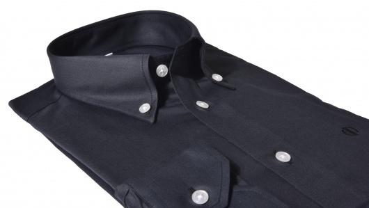 Čierna Slim Fit košeľa
