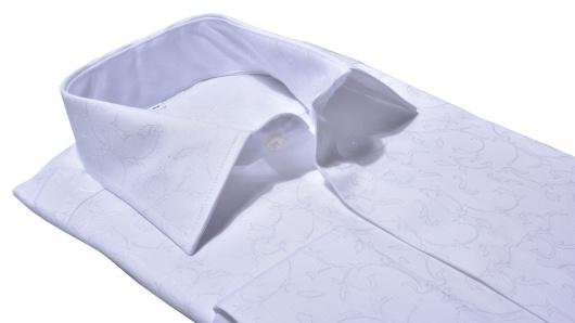 Biela spoločenská Classic Fit košeľa