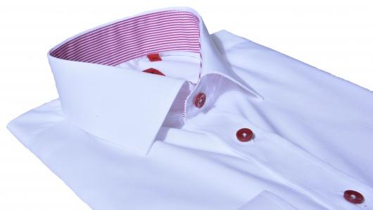 Biela Ultra Slim Fit košeľa