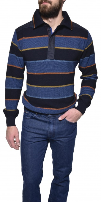 Striped casual pullover