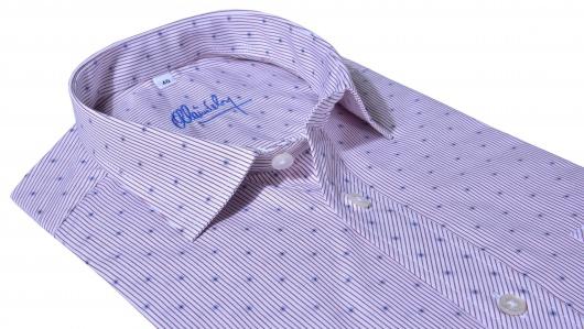 Voľnočasová Slim Fit vzorovaná košeľa