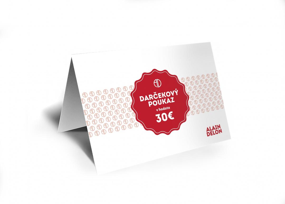 30€ Darčeková poukážka