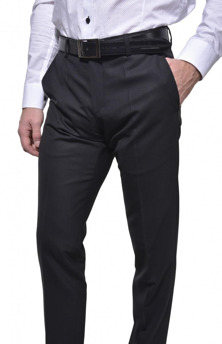 Čierne spoločenské nohavice