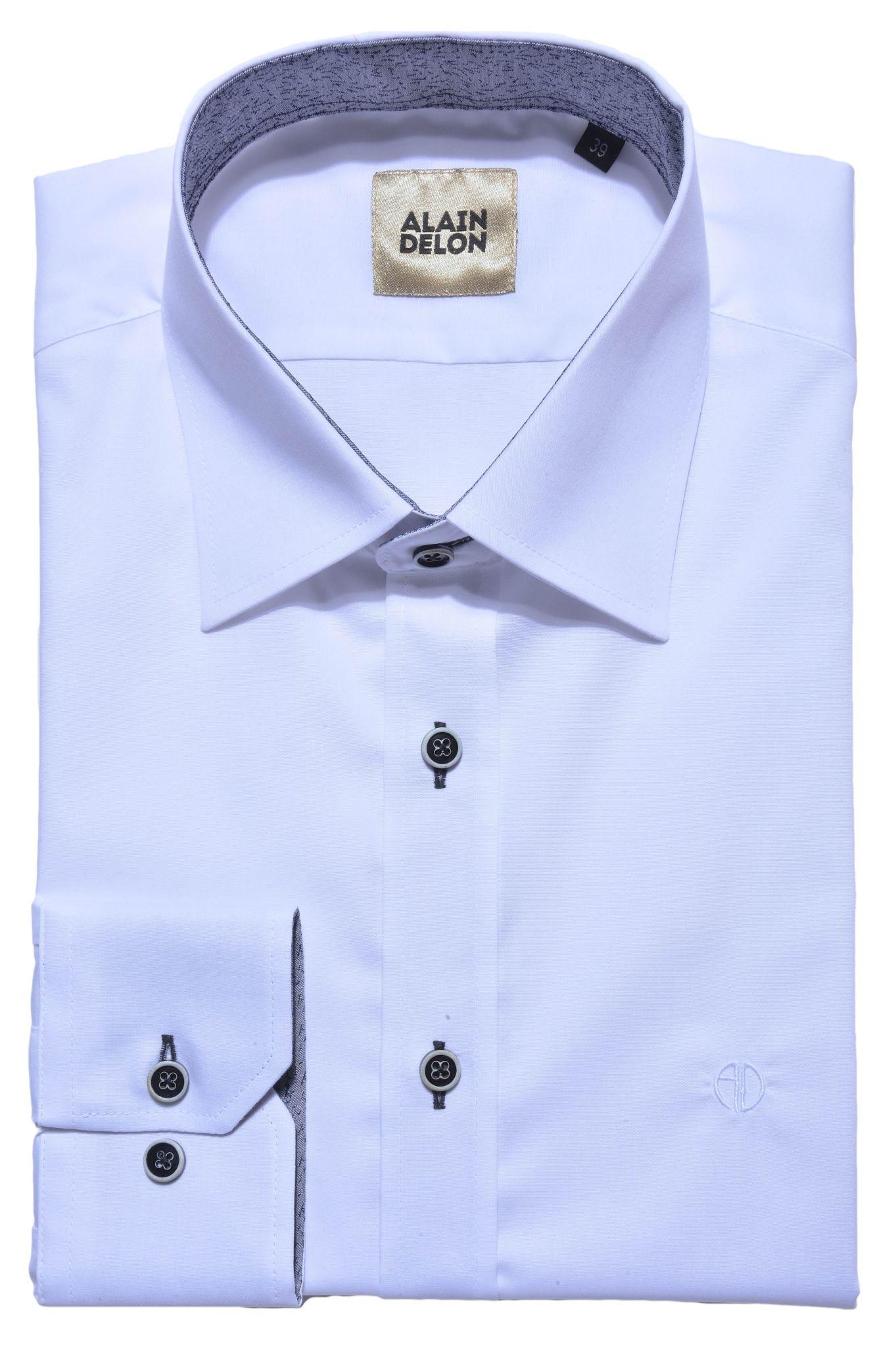 White Extra Slim Fit Shirt Shirts E Shop Alaindelon