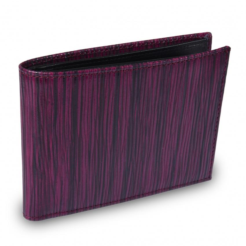 Bordová kožená peňaženka