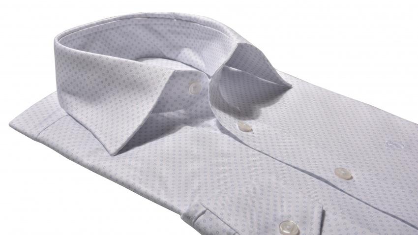 White Basic Slim Fit shirt