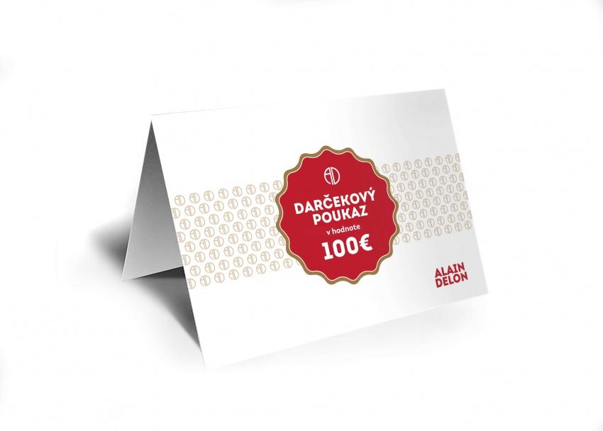 100 € Darčeková poukážka