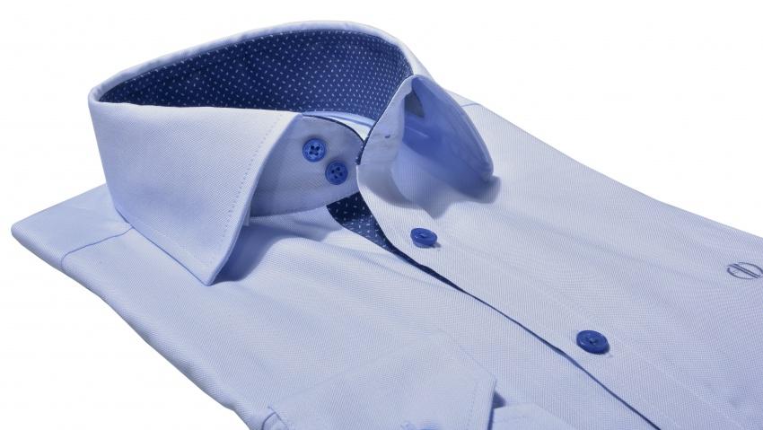 b3067294d3f6 Modrá Extra Slim Fit business košeľa - Košele - E-shop