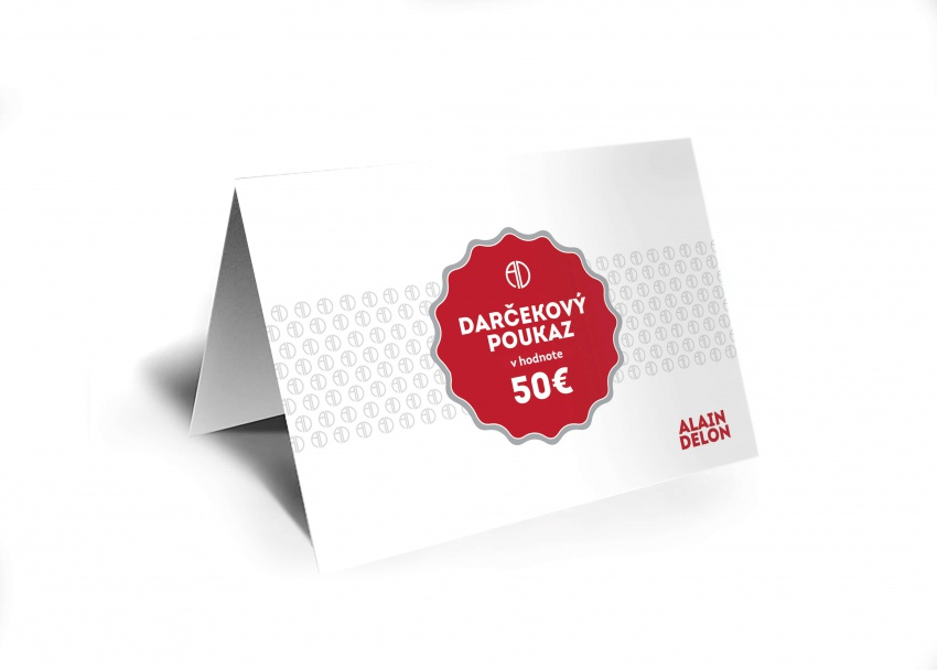 50 € Darčeková poukážka
