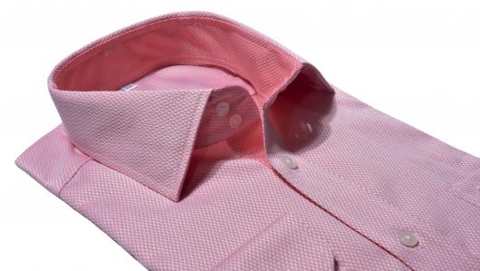 Ružová Classic Fit business košeľa