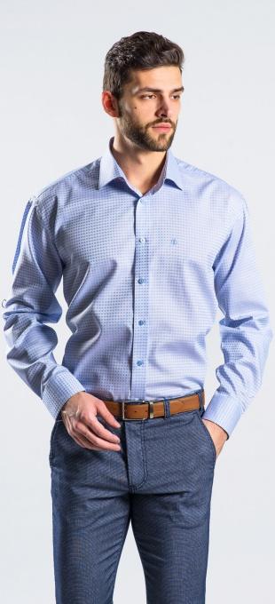 Blue Classic Fit business shirt