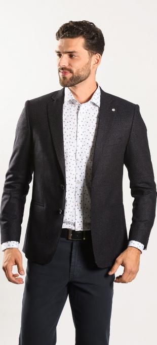 Grey-blue blazer