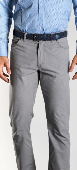 Béžové bavlnené nohavice rady Basic