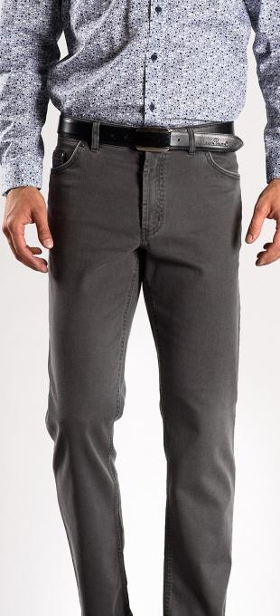 Sivé voľnočasové nohavice