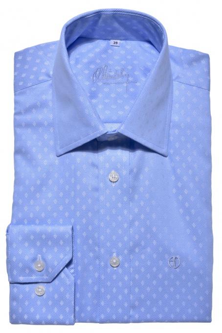 Modrá business Classic Fit košeľa