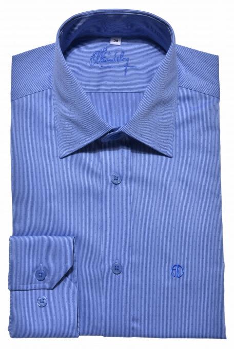 Modrá business Extra Slim Fit košeľa