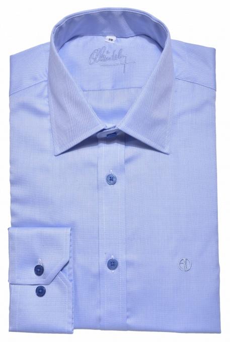 Modrá Extra Slim Fit business košeľa