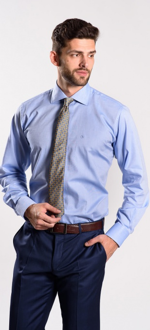 Blue Classic Fit shirt