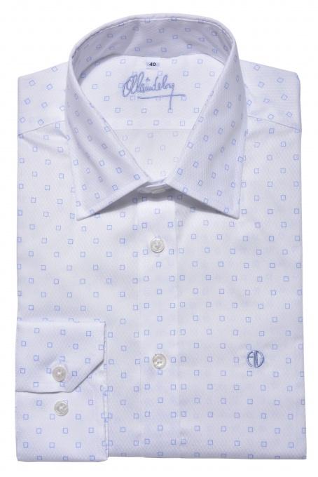 Biela Extra Slim Fit business košeľa