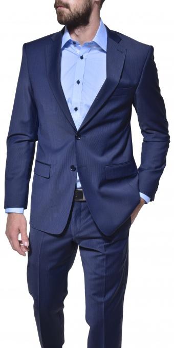 Modrý sllim fit business oblek