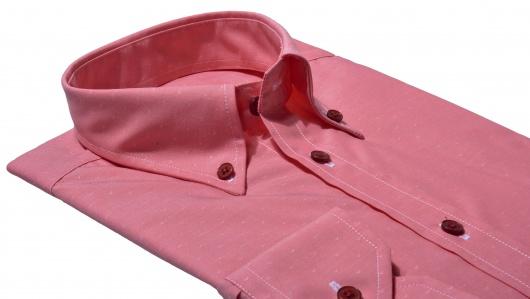 Červená Extra Slim Fit voľnočasová košeľa