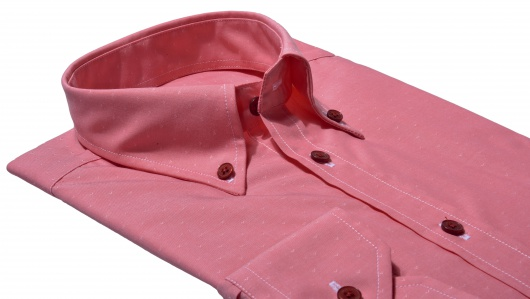 Red Extra Slim Fit casual shirt