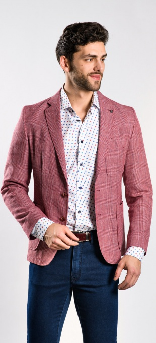 LIMITED EDITION checked blazer