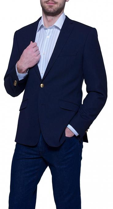 Modré klubové sako