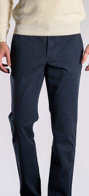 Sivé bavlnené nohavice