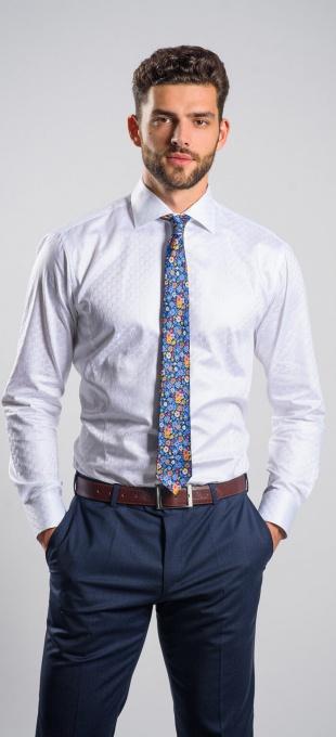 LIMITED EDITION biela Extra Slim Fit košeľa