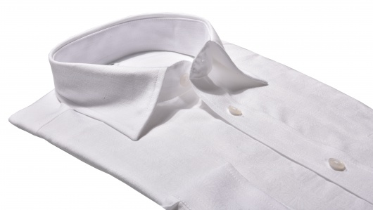 White casual Slim Fit shirt