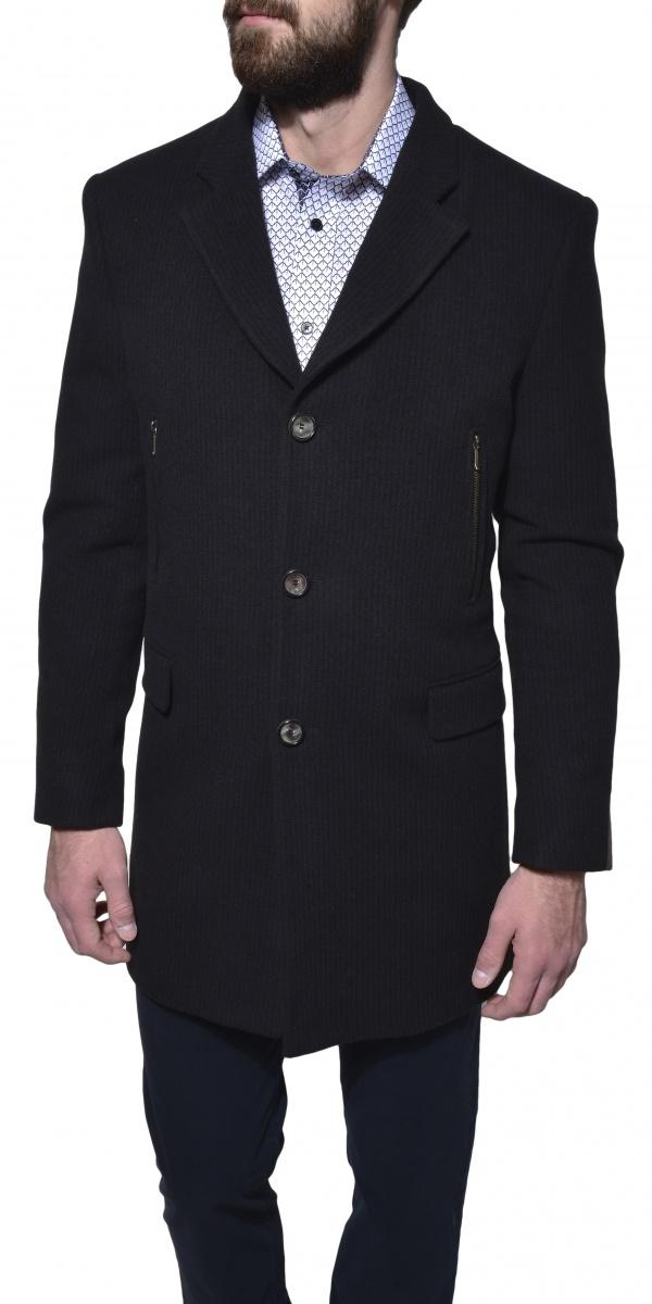 Hnedý zimný kabát