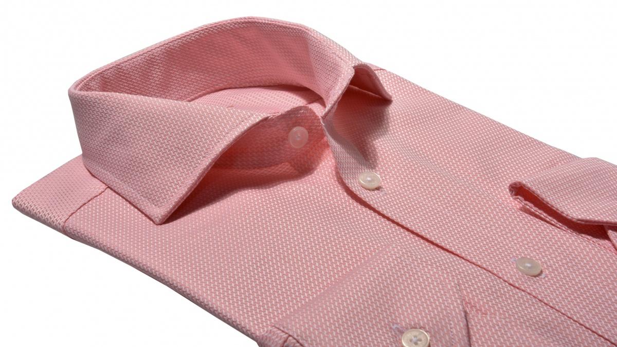 LIMITED EDITION lososová Classic Fit košeľa