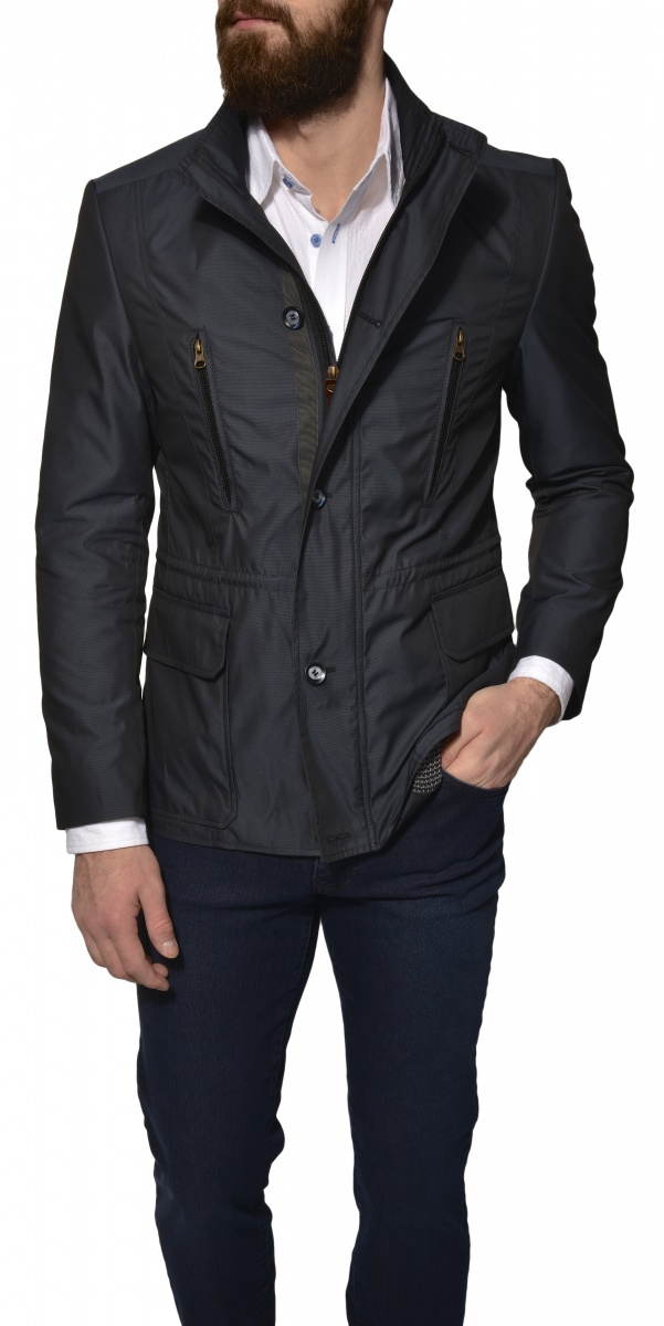 DARK BLUE SPRING JACKET