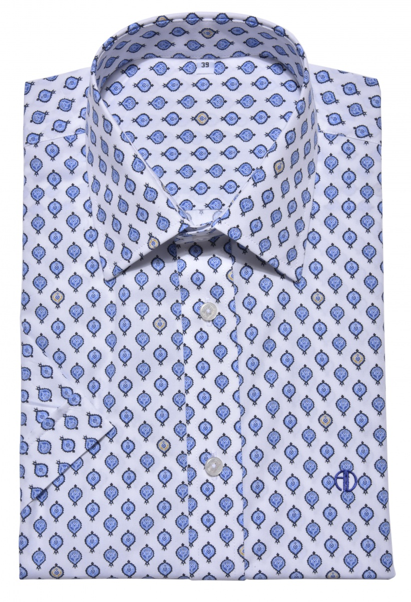 Casual Slim Fit short sleeved shirt