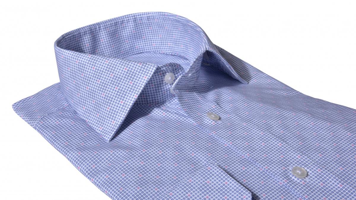 Voľnočasová Slim Fit košeľa s printom