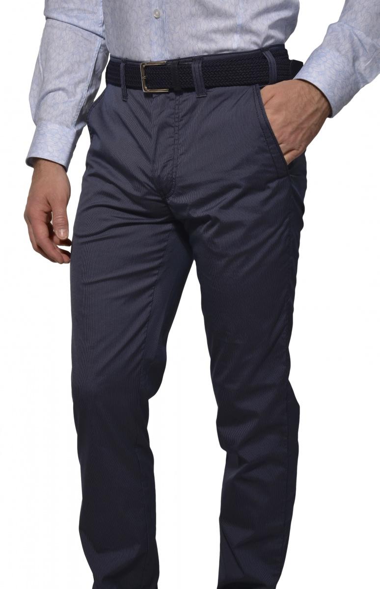 Grey-blue Basic chinos
