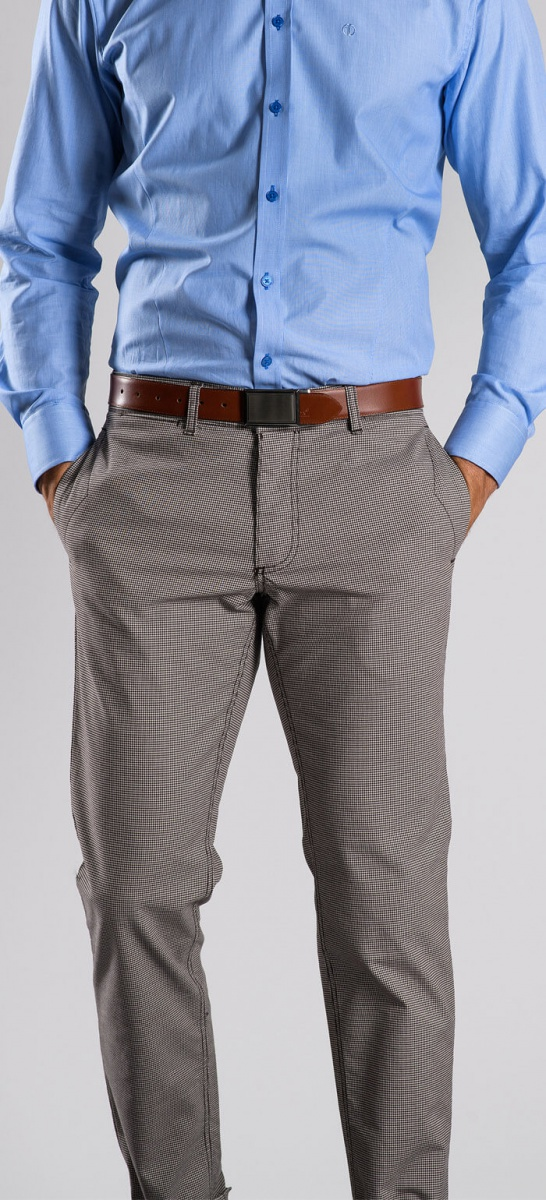 Casual brown chinos